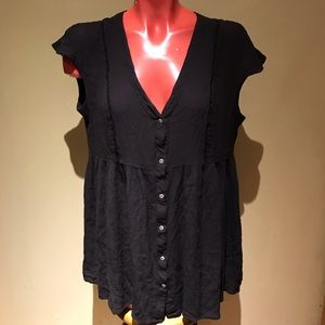 Anthropologie - Vanessa Virginia tunic top blouse